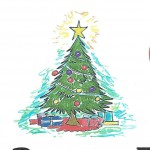Christmas tree 100x100