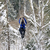 Canopy tour zip line Bretton Woods